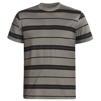 American Essentials T-Shirt - Silk-Cotton, Short Sleeve (For Men)