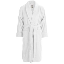 American Essentials The Ultimate Robe - Cotton Terry (For Men) in White