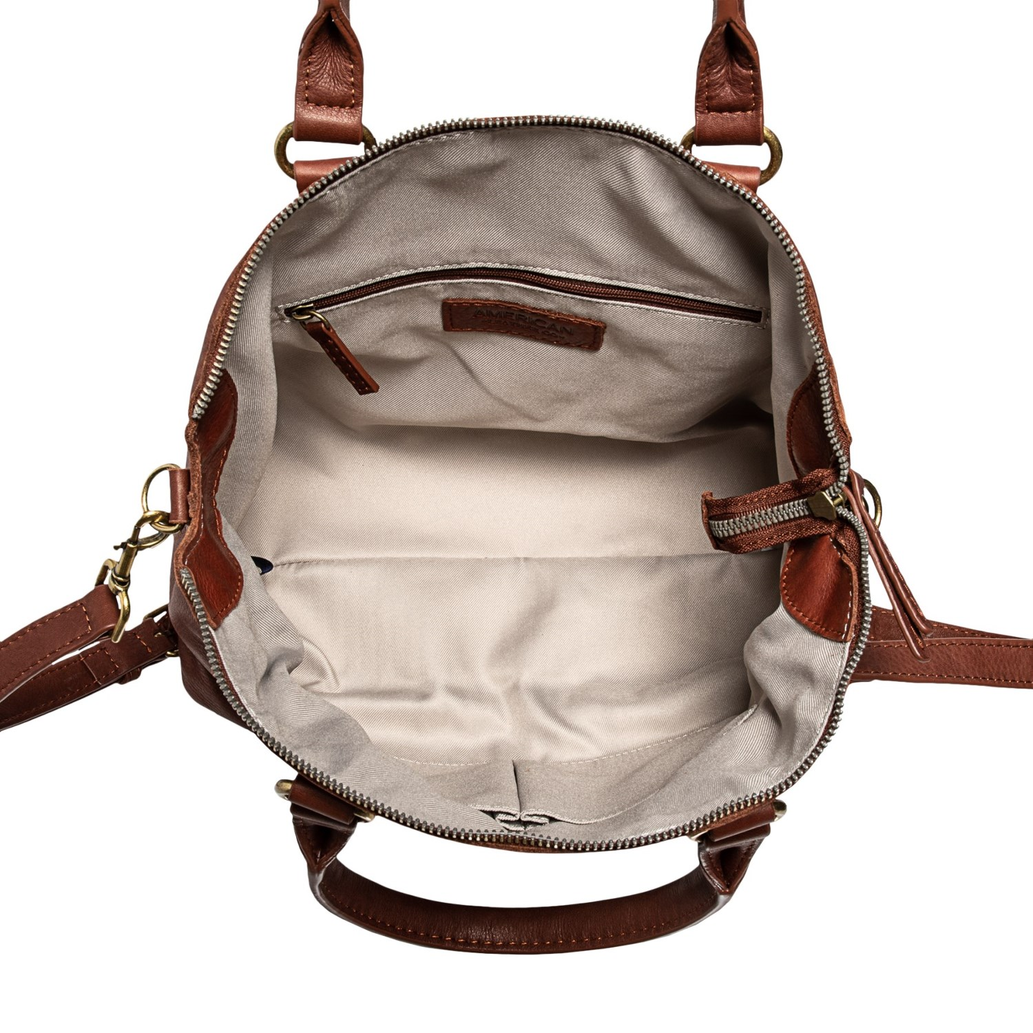 869e173bb9f80 American Leather Co. Carrie Dome Satchel (For Women) - Save 54%