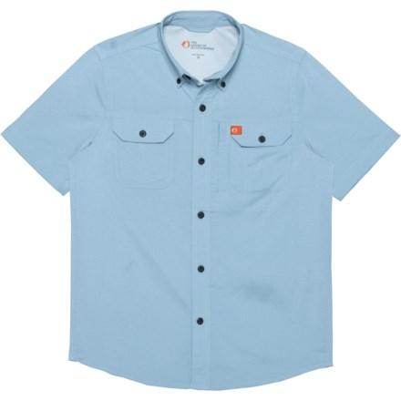 af63fe8e7 American Outdoorsman Heather Solid Guide Shirt - UPF 30, Short Sleeve (For  Big Boys