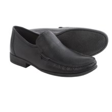 Anatomic & Co. Lagoa Leather Moccasins (For Men) in Black - Closeouts