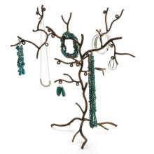 Ancient Graffiti Jewelry Tree in See Photo - Closeouts