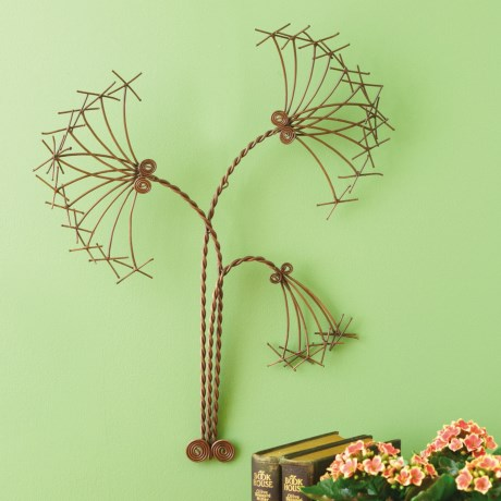 """Ancient Graffiti Papyrus Outdoor Wall Décor - 22"""" in Copper"""