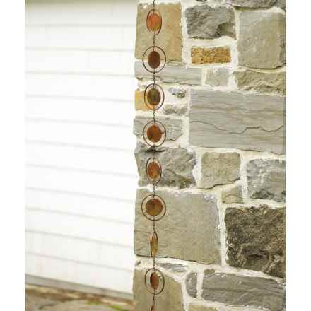 Ancient Graffiti Rain Chain - 8' in Circle - Overstock