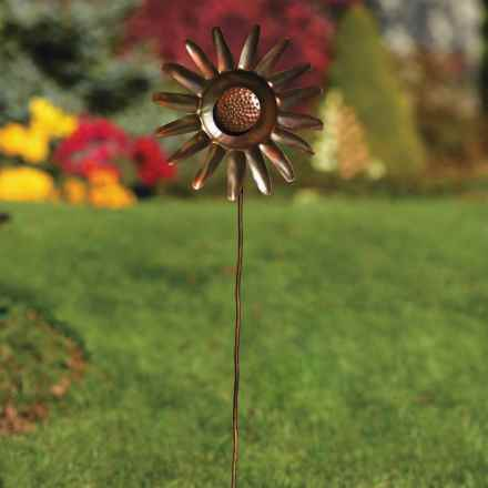 "Ancient Graffiti Sunflower Spinner - 46"" in See Photo - Closeouts"