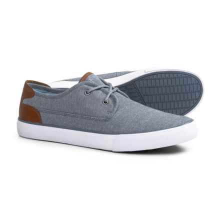 Andrew Marc Bergen Sneakers (For Men) in Blue/Saddle/White - Closeouts