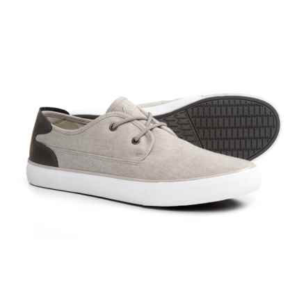 Andrew Marc Bergen Sneakers (For Men) in Soft Grey/Grey/White - Closeouts