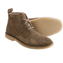 Andrew Marc Dorchester Crepe Chukka Boots (For Men) in Sandstone/Deep Natural - Closeouts