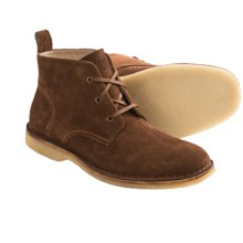Andrew Marc Dorchester Crepe Chukka Boots (For Men) in Umber/Deep Natural - Closeouts