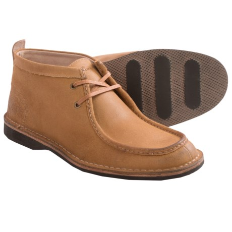 Andrew Marc Dorchester Leather Chukka Boots Moc Toe (For Men)