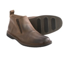 Andrew Marc Eugene Chelsea Boots (For Men) in Espresso/Black - Closeouts