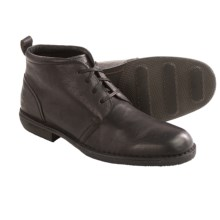 Andrew Marc Greenwich Leather Chukka Boots (For Men) in Black/Deep Natural - Closeouts