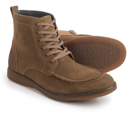 Andrew Marc Marc New York by  Borden Boots - Suede (For Men) in Seville/Coffee Bean