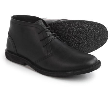 Andrew Marc Marc New York by Walden Chukka Boots - Leather (For Men) in Jet Black