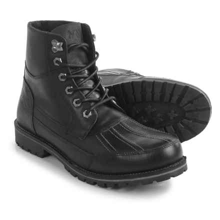 Andrew Marc Otis Boots - Leather (For Men) in Black - Closeouts