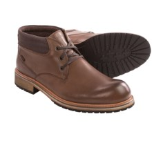 Andrew Marc Wilson Leather Boots (For Men) in Dark Canyon/Mushroom/Natural - Closeouts
