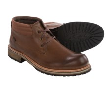 Andrew Marc Wilson Leather Boots (For Men) in Rust/Espresso/Natural - Closeouts