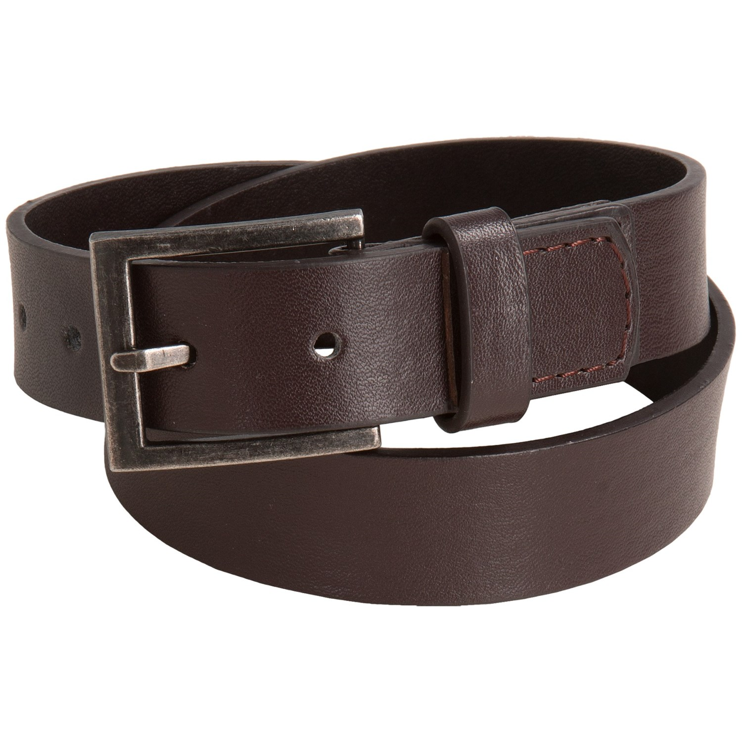 andy evan faux leather belt for boys in brown