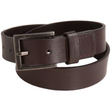 Andy & Evan Faux-Leather Belt (For Little Boys) in Brown - Closeouts