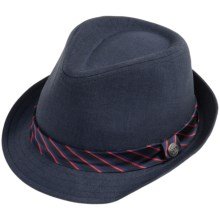 Andy & Evan Navy Fedora Hat (For Boys) in Navy - Closeouts
