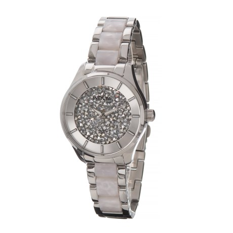 Image of Angel Lady Watch - 38mm, Stainless Steel Bracelet (For Women)
