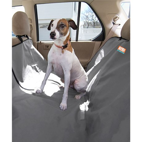 Animal Planet Car Seat Cover for Dogs in Grey