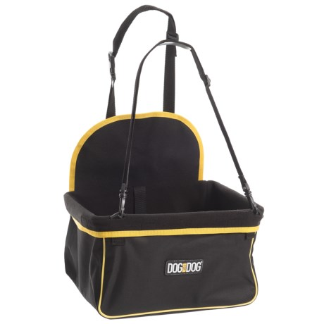 Animal Planet Dog Booster Seat - Small Dogs in Black/Yellow Trim