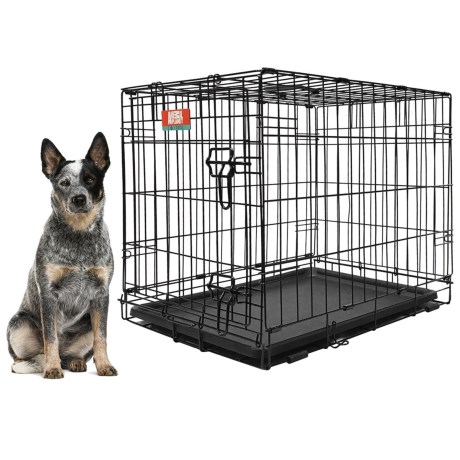 "Animal Planet Metal Dog Crate - 36x23x25"" in Black"