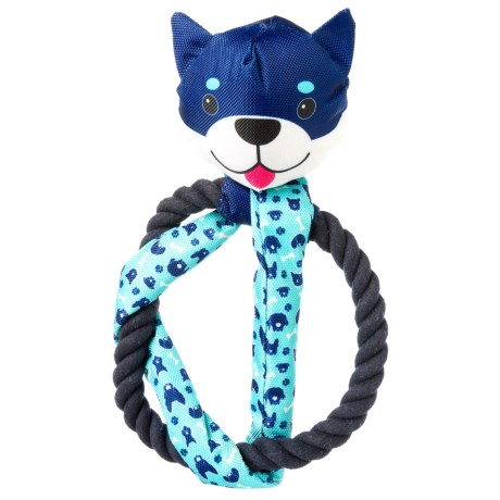 Animal Planet Oxford Rope Dog Toy in Blue