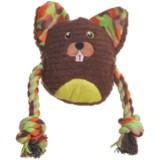 Animal Planet Plush Beaver Dog Toy - Squeaker