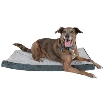 "Animal Planet Quilted Orthopedic Dog Crate Mat - 26x40"" in Charcoal - Closeouts"