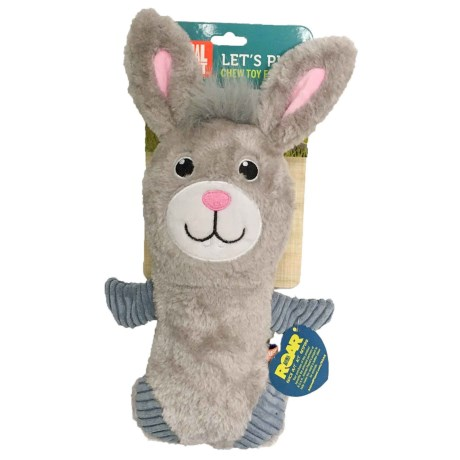 Animal Planet Rabbit Full Squeaker Dog Toy in See Photo