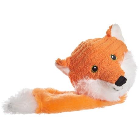 Animal Planet Squeaker Ball Fox Dog Toy in Fox