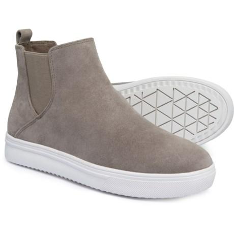 Image of Ankle Sneakers - Waterproof Suede (For Women)