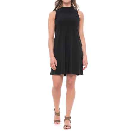 Annalee+Hope Jersey Knit Trapeze Dress - Sleeveless (For Women) in Black - Closeouts