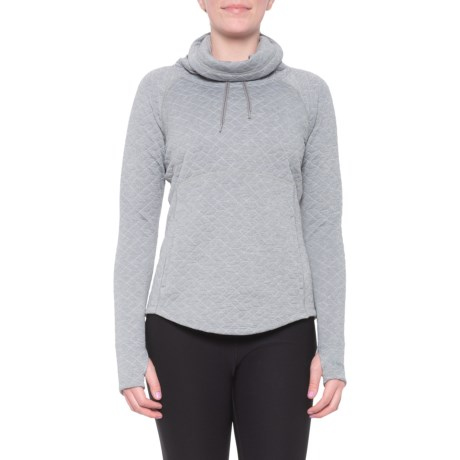 Annie Shirt - Long Sleeve (For Women) - GREY STORM (XS )
