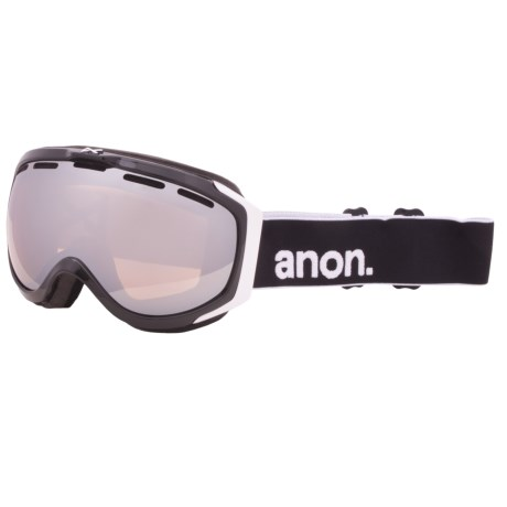 Anon 2012 Hawkeye Snowsport Goggles in Black/Red Solex