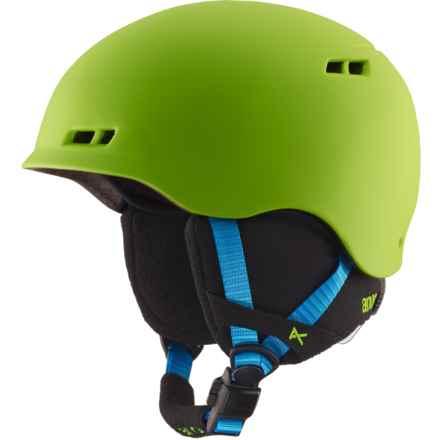 Anon Burner Ski Helmet (For Big Kids) in Green - Closeouts