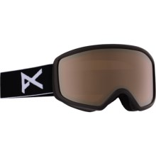Anon Deringer MFI Ski Goggles - OTG (For Women) in Black/Silver Amber - Closeouts