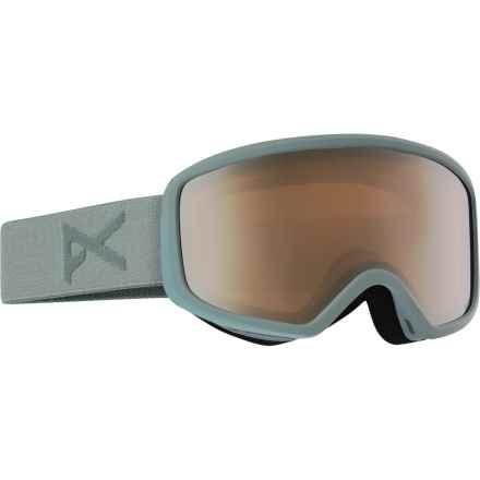 Anon Deringer MFI Ski Goggles - OTG (For Women) in Gray/Silver Amber - Closeouts