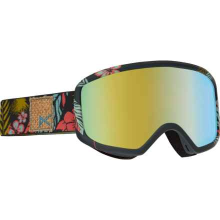 Anon Deringer MFI Ski Goggles - OTG (For Women) in Tiki/Gold Chrome - Overstock