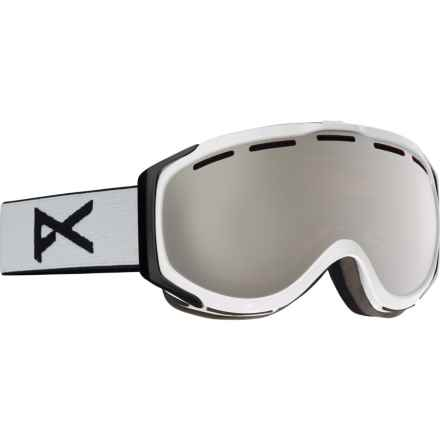 Anon Hawkeye Snowsport Goggles in White/Silver Amber - Overstock