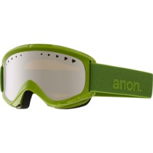 Anon Helix Ski Goggles - Extra Lens in Grasshole/Silver Amber - Closeouts