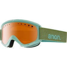 Anon Helix Ski Goggles in Mint/Amber - Closeouts
