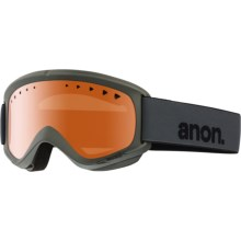 Anon Helix Ski Goggles in Stealth/Amber - Closeouts