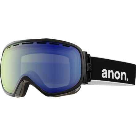 Anon Insurgent Ski Goggles in Black/Blue Lagoon - Closeouts