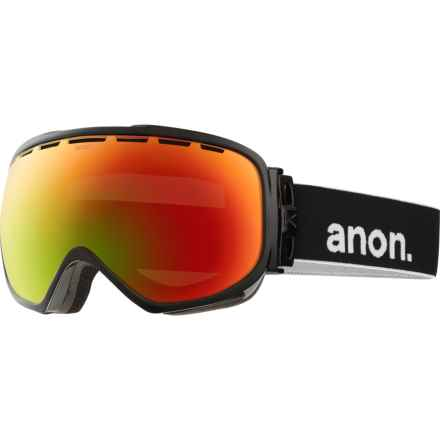 Anon Insurgent Ski Goggles in Black/Red Solex - Closeouts
