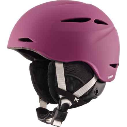 Anon Keira Ski Helmet (For Women) in Merlot Purple - Closeouts