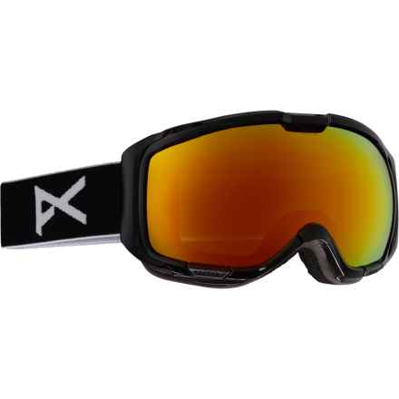 Anon M1 Ski Goggles - Extra Lens in Black/Red Solex - Closeouts