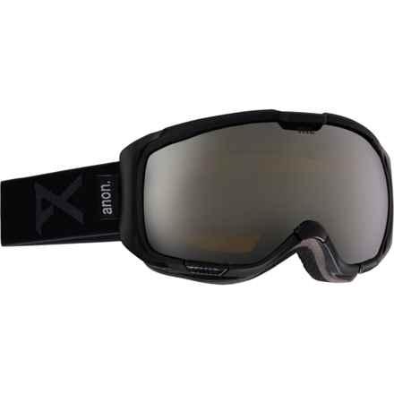 Anon M1 Ski Goggles - Extra Lens in Black/Silver Solex - Closeouts